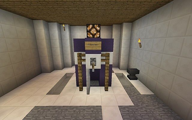11th Doctors Tardis Minecraft Project