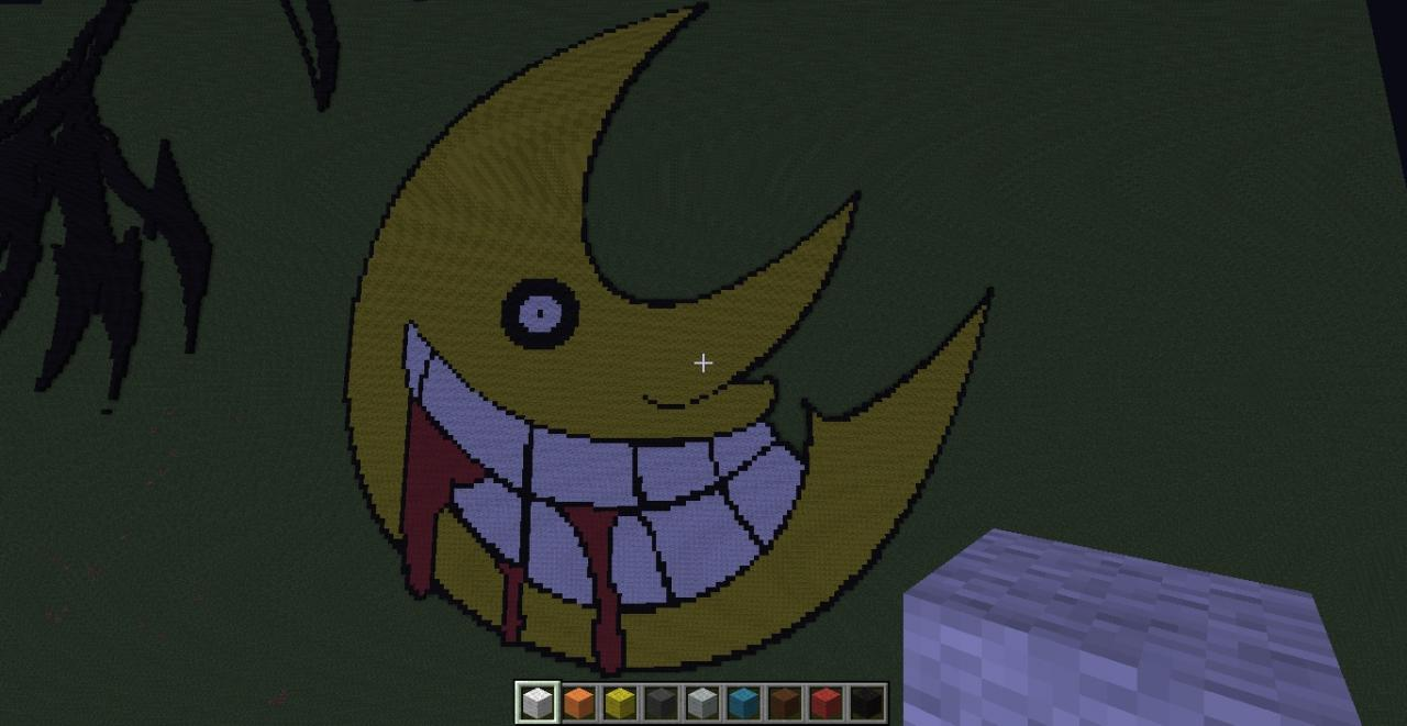 Soul Eater Moon Minecraft Project