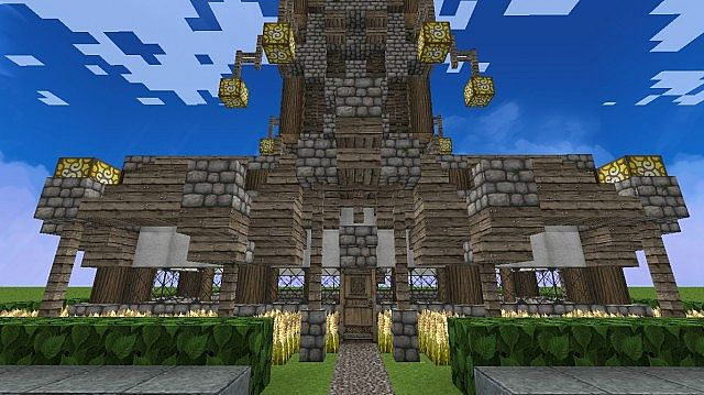 Medieval Clock Tower Minecraft Medieval Clock Tower H...