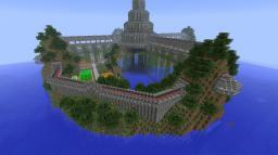 Minecraft Custom Island Home!