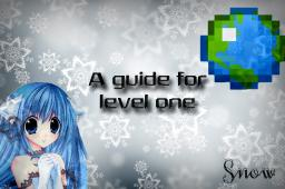 A guide for Planet Minecraft level one Minecraft Blog