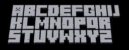 Minecraft 3D Font ▒▒Preview▒▒ Minecraft Blog Post