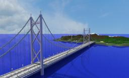 Minecraft Mega Building: Mega Bridge ( 850 m. long ) Minecraft