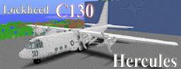 Lockheed C130 Hercules Minecraft Map & Project
