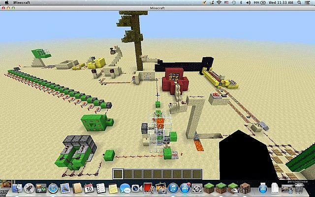 rube goldberg machine minecraft