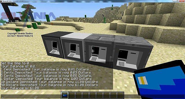 Flenixmoney Physicaldigital Economy For Forge Minecraft Mod