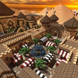 Extasia - Desert town Minecraft