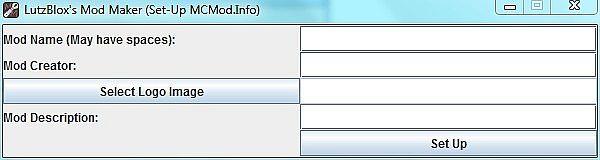 MCMod.Info Set Up Screen