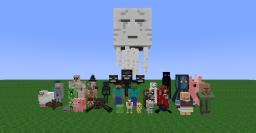 All Minecraft Characters Art Minecraft Blog Post