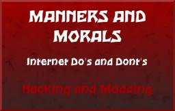 Morals and Manners - Hacking and Modding Minecraft Blog