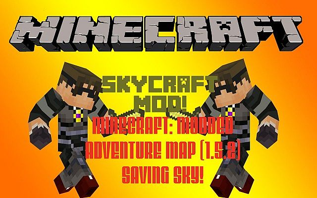 how to download skycraft mod