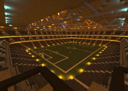 Minecraft Mega building (Friends Arena): the Association football national arena of Sweden Minecraft