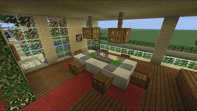 Minecraft xbox 360 awesome army tank showcase design for Minecraft dining room designs