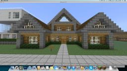 Modern Wooden House Medium Sized. Minecraft Map & Project