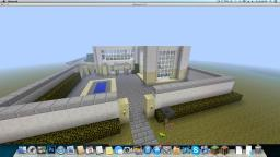 Modern House Build two Minecraft Map & Project