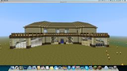 Luxury moder Mansion Build Minecraft Map & Project