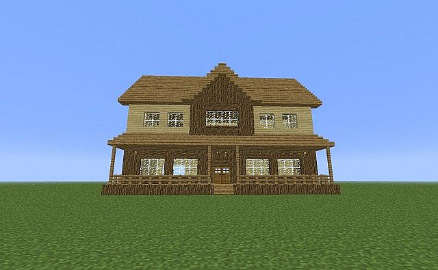 how to make a suburban house in minecraft