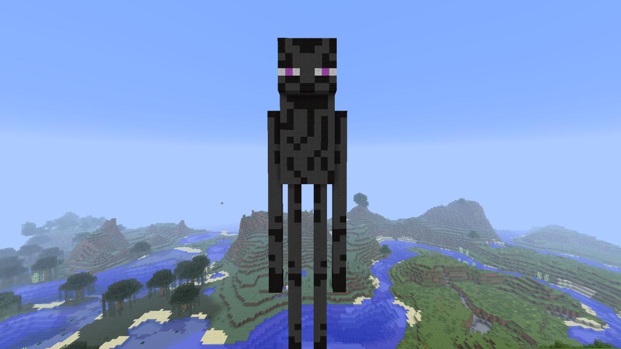 enderman statue 2311257 2 enderman statue 2 diamondsHow To Make An Enderman Statue
