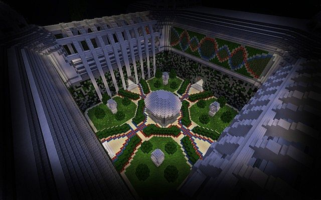 Amazing server spawn ready to download minecraft project centre of the building night gumiabroncs Image collections