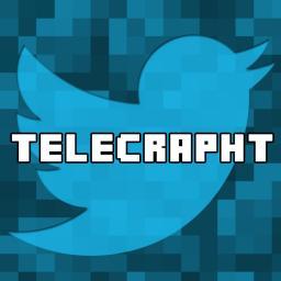 [Forge] [1.6.4] [SSP] #Telecrapht - Twitter IN Minecraft!