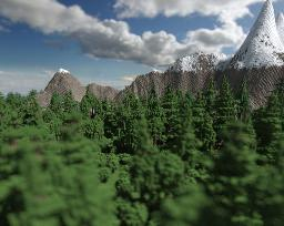 Argyros - Custom Trees and Landscape (Pop Reel! Home Screen!) Minecraft Map & Project