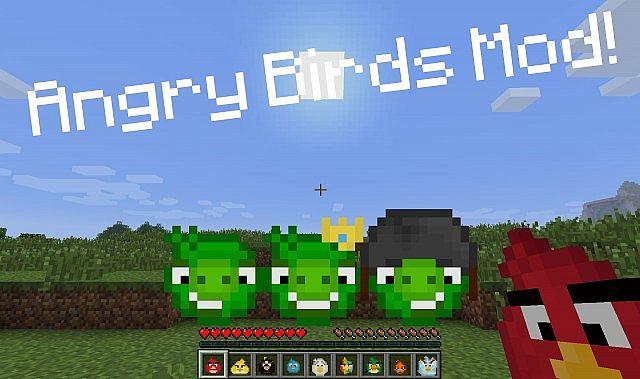 152 angry birds mod v41 fixed crashes minecraft mod