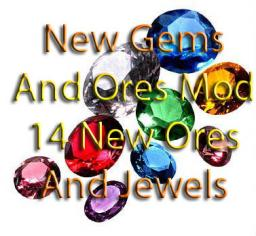 New Gems and Ores Mod