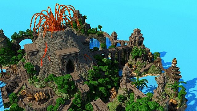 K'Tulu Island   Survival Games Map for Hypixel Minecraft Project