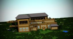 The luxury manor Minecraft Map & Project