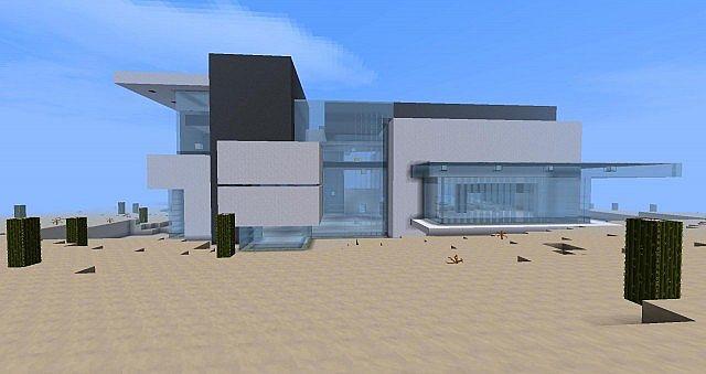 Modern Shopping Center Minecraft Project