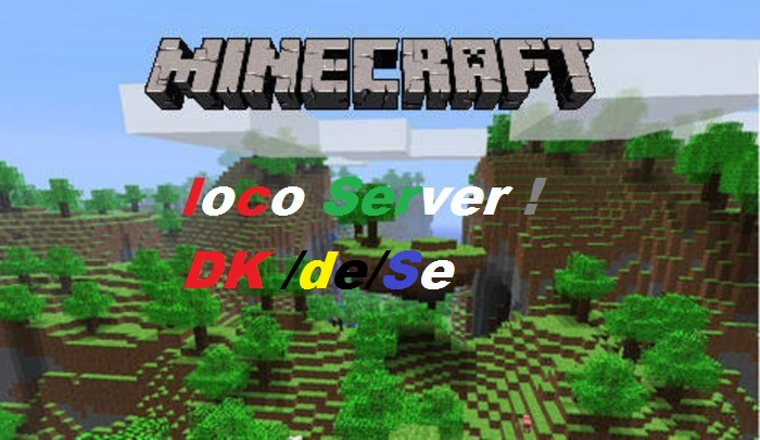Loco Pvp And Crafting Server! De/Dk/SWE! Minecraft Server