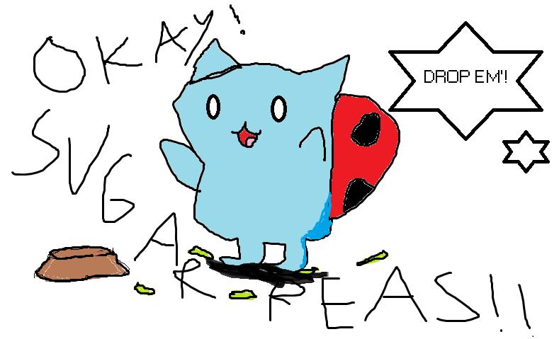 Oo Attempt At Drawing Catbug Bravest Warriors Minecraft Blog