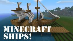 Archimedes' Ships - Build Massive Ships or Small Boats! Minecraft Blog