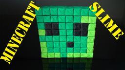 Minecraft Slime Pixel Art (Origami Paper Craft)! Minecraft Blog