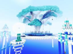 Snowflake- Server Spawn Contest Minecraft Map & Project