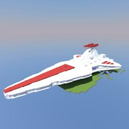 Venator Class Star destroyer Minecraft Map & Project