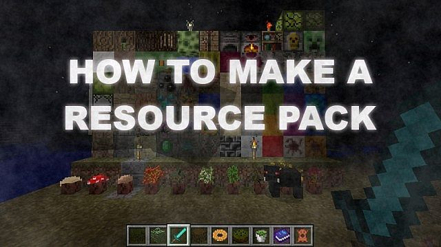 how to make a resource pack minecraft omgcraft