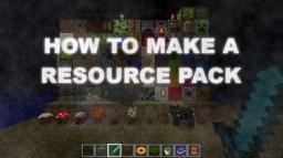 How To Make A Resource Pack Minecraft Blog