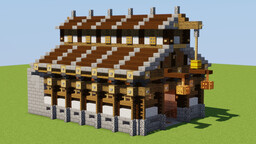 Horse Stable Minecraft Map & Project