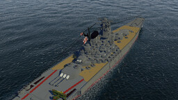IJN Yamato Minecraft Map & Project