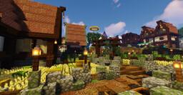 "riverville village ""renovation"" Minecraft Map & Project"