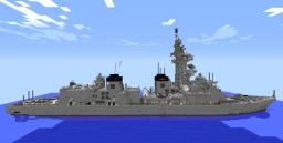 JMSDF DD MURASAME class Destroyer[1.5.1] Minecraft Map & Project