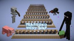 (╬◣д◢) §1playsound test map Usage of /playsound command Minecraft Map & Project