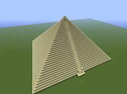 first map, pyramid of death Minecraft Project