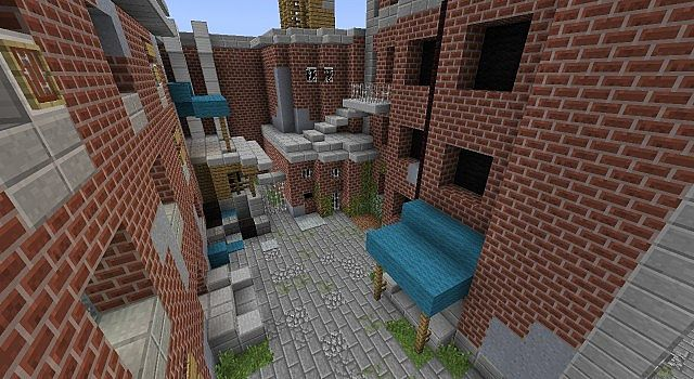 The Last Of Us Adventure Map Demo Minecraft Project - The last of us minecraft map