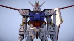 GAT-X105 Aile Strike Gundam Minecraft Project