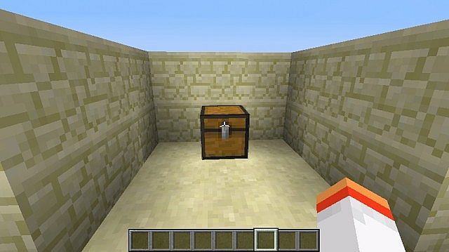 Minecraft chest slot numbers