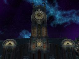 Steampunk Clocktower Minecraft Map & Project