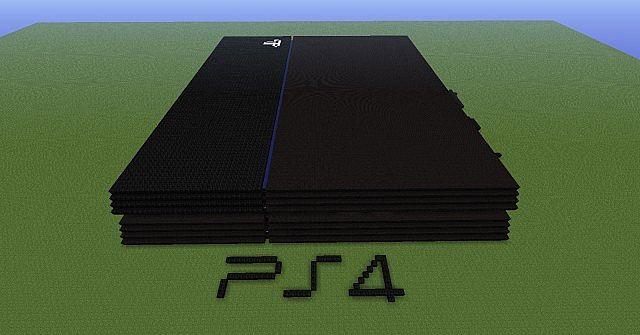 Sony Playstation 4 Minecraft Map