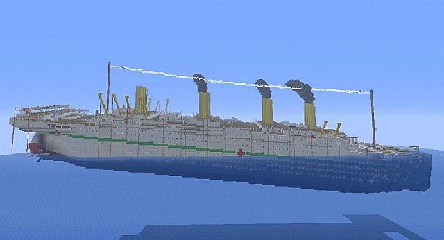 Скачать Титаник для игры в minecraft